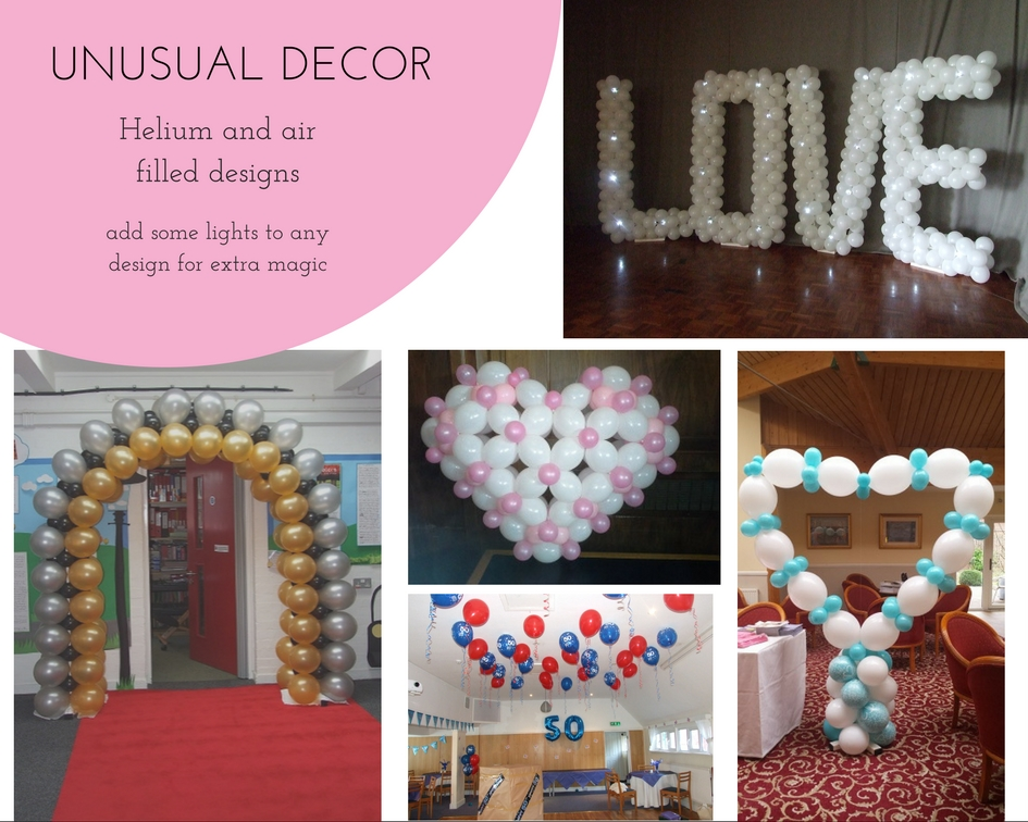 Balloon decorations - Unusual decor