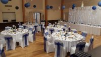 chair cover and table linen hire